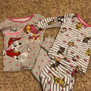 Other - Toddler girl 3t paw patrol pajamas